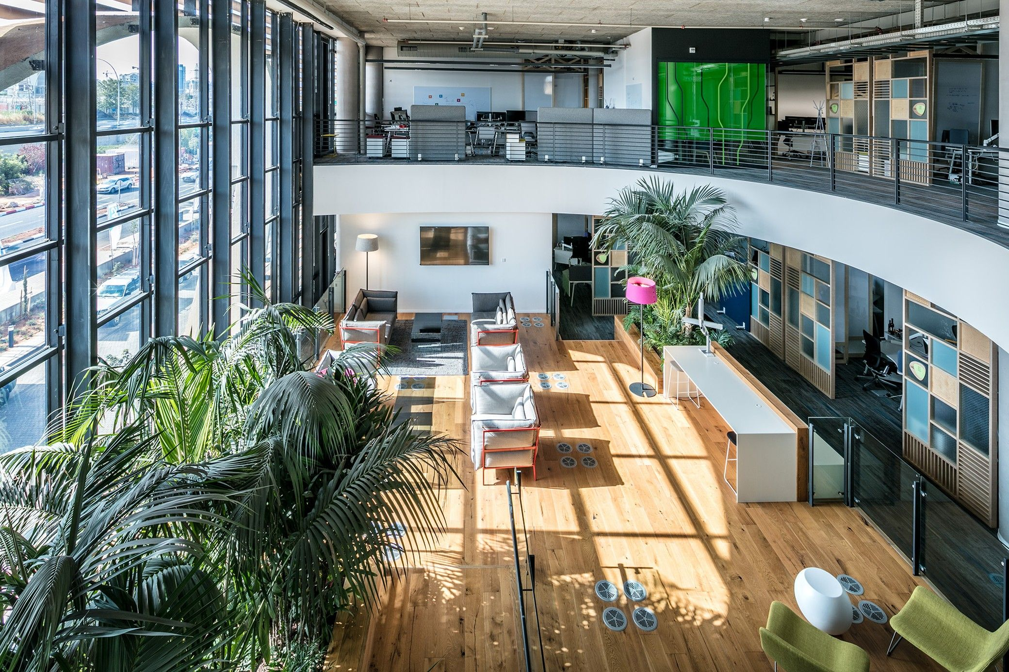 Sap Headquarters Yashar Architects Fascinating SAP Headquarters Interiors 5923 11