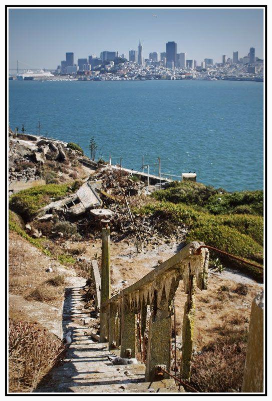 Sorrowful Steps Alcatraz San Francisco San Francisco Alcatraz