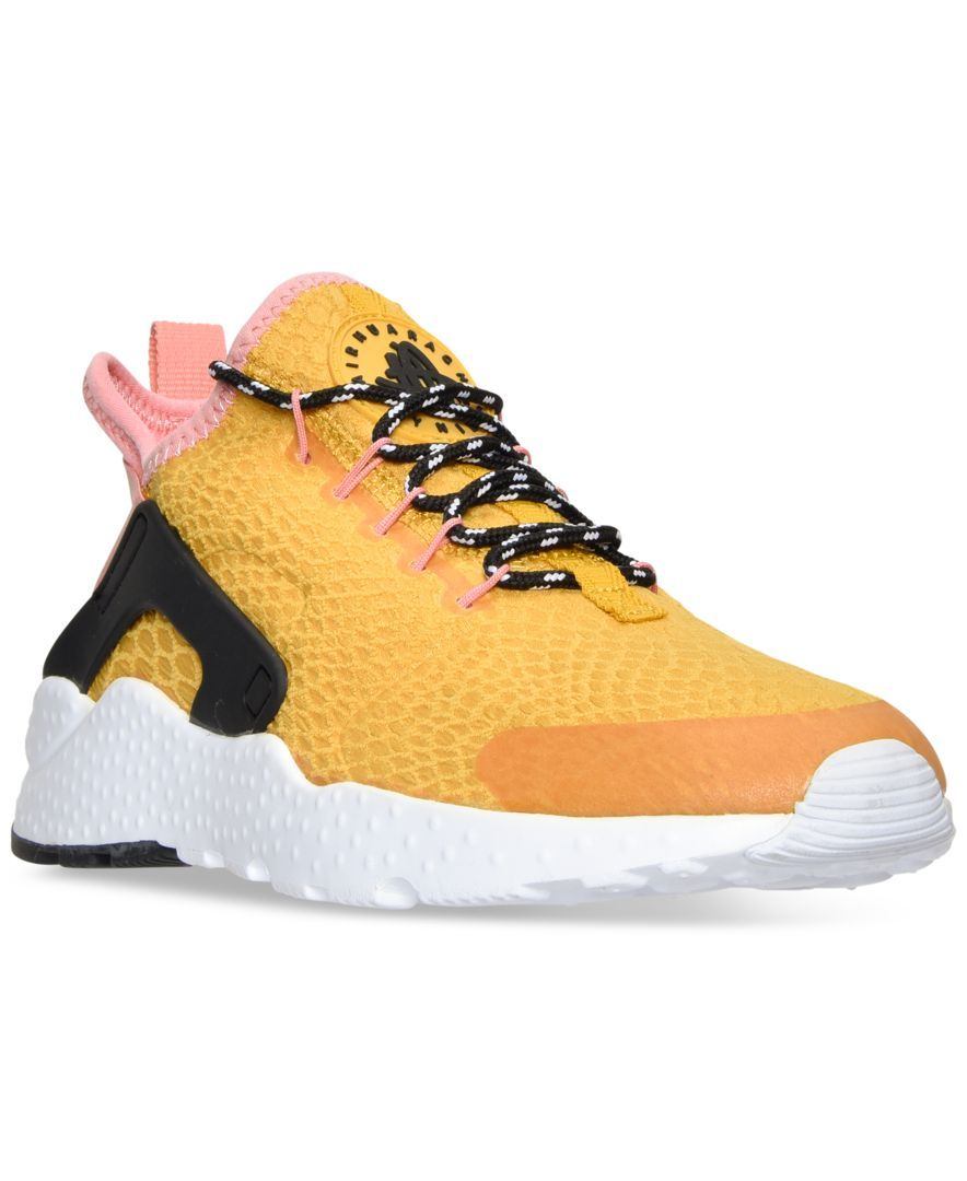 new product e0143 af2a9 Nike Women s Air Huarache Run Ultra Se Running Sneakers from Finish Line