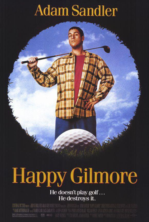 Happy Gilmore FRIDGE MAGNET 6x8 Adam Sandler Magnetic Movie