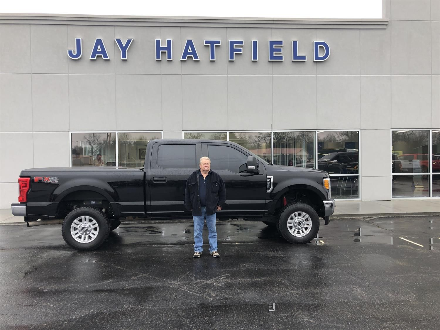 Jay Hatfield Ford >> Chuck S New 2017 Ford F 250 Congratulations And Best Wishes