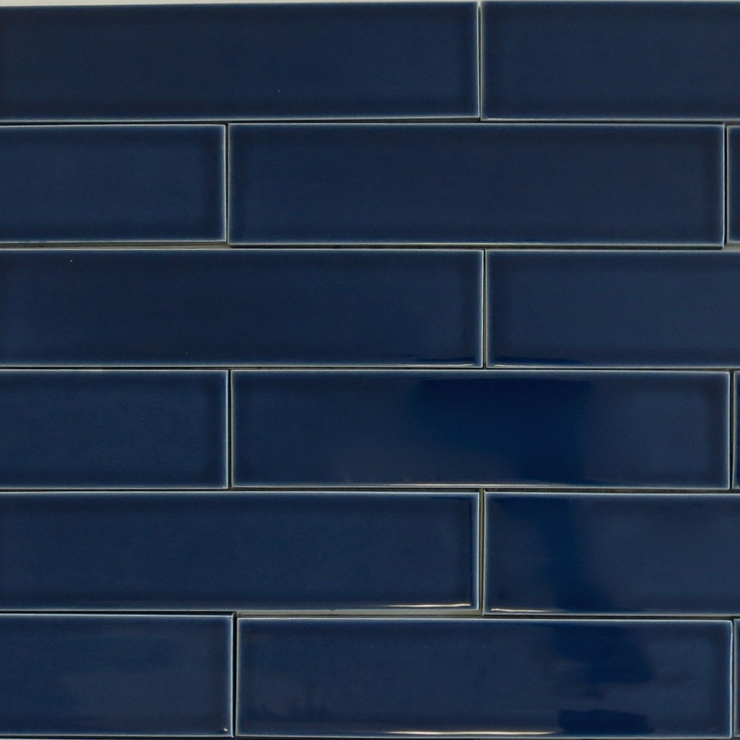 Kiln Ceramic Subway Tile Caspian Blue | Modwalls Designer Tile ...