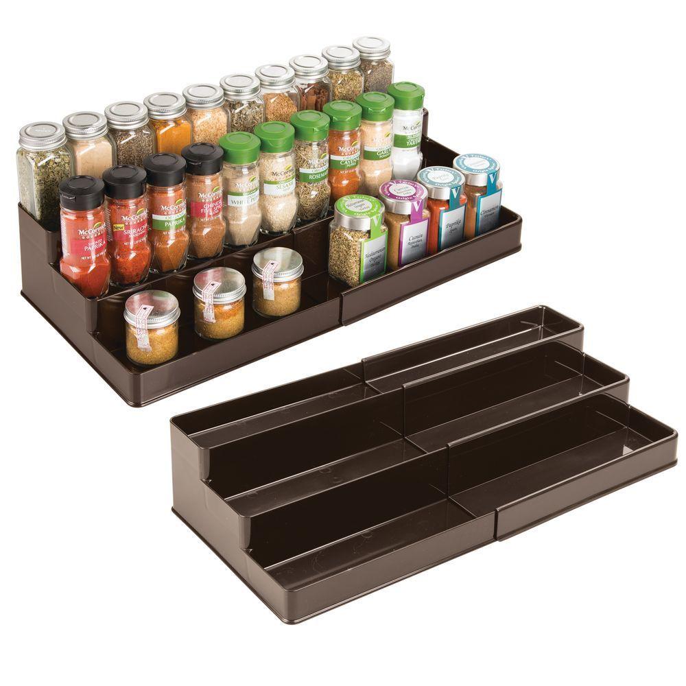expandable plastic spice rack mdesign