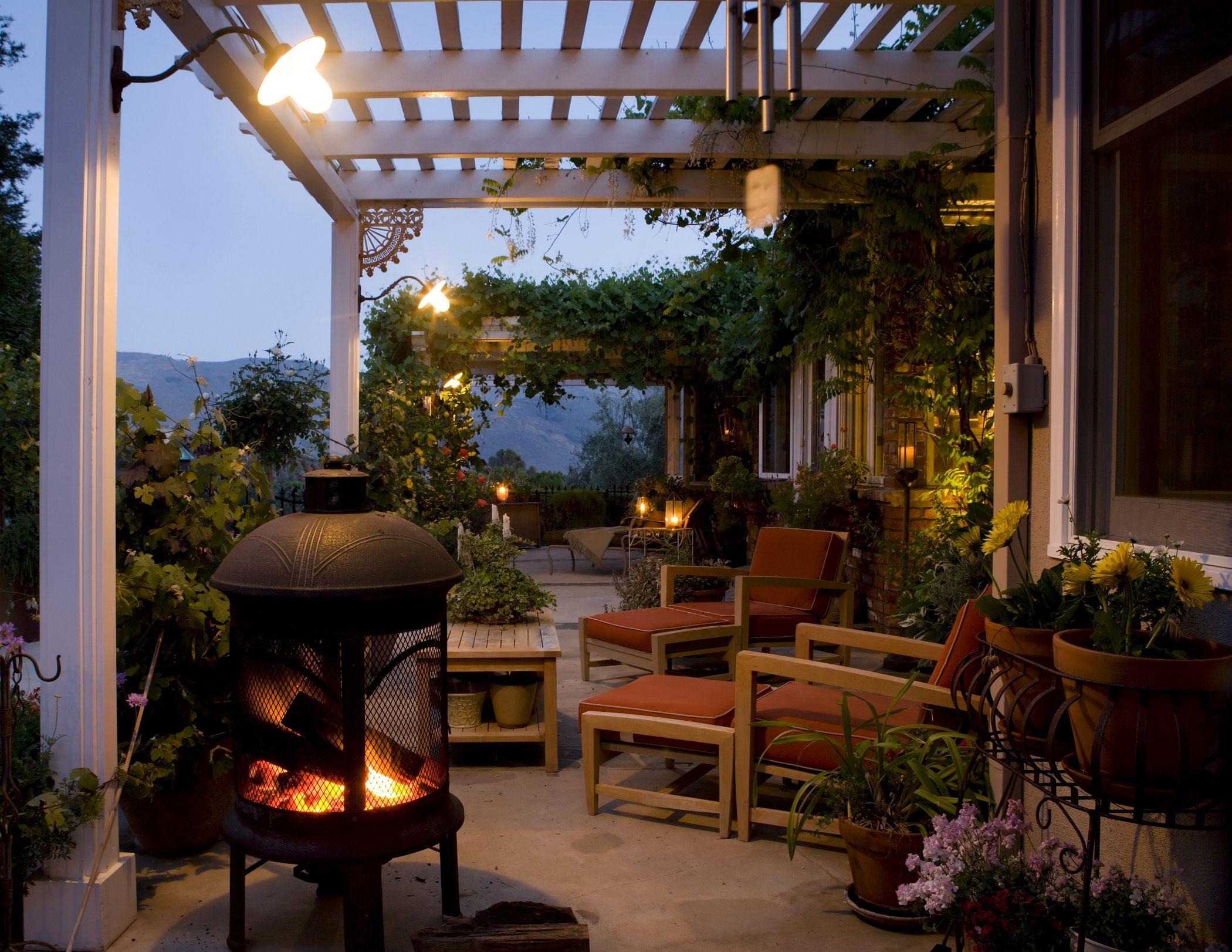 Equipamiento para la decoraci n de terrazas y jardines - Decoraciones de jardin ...