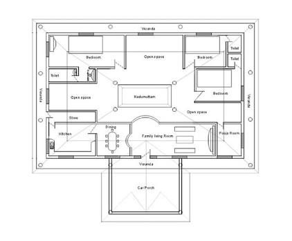 картинки по запросу South Indian Traditional House Plans