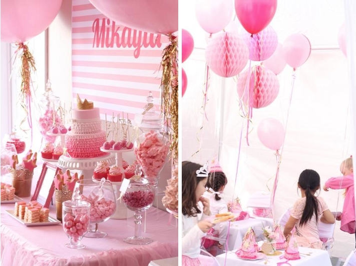Pinkalicious 6th Birthday Princess Party Karas Party Ideas