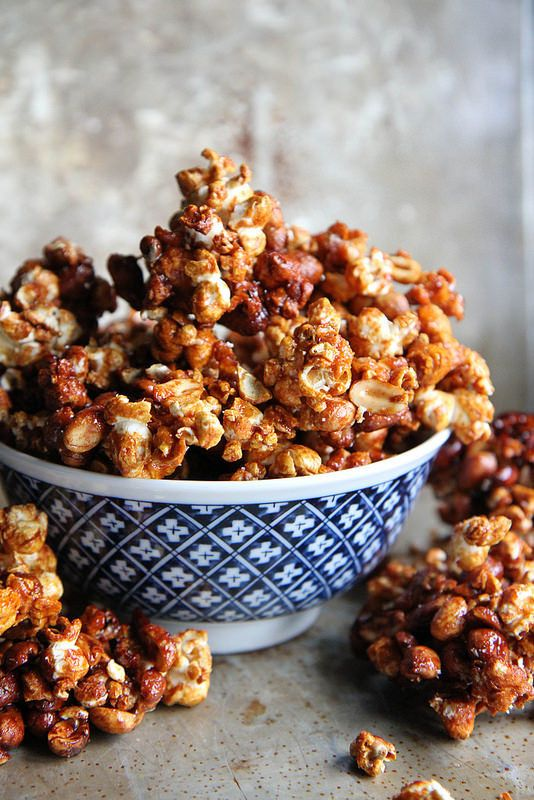 Sriracha Honey Popcorn Clusters | 30 Delicious Things To Cook In November