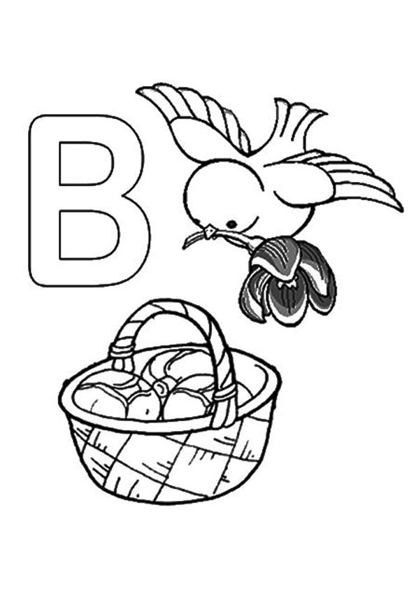 Top 10 Letter 'B' Coloring Pages Your Toddler Will Love To