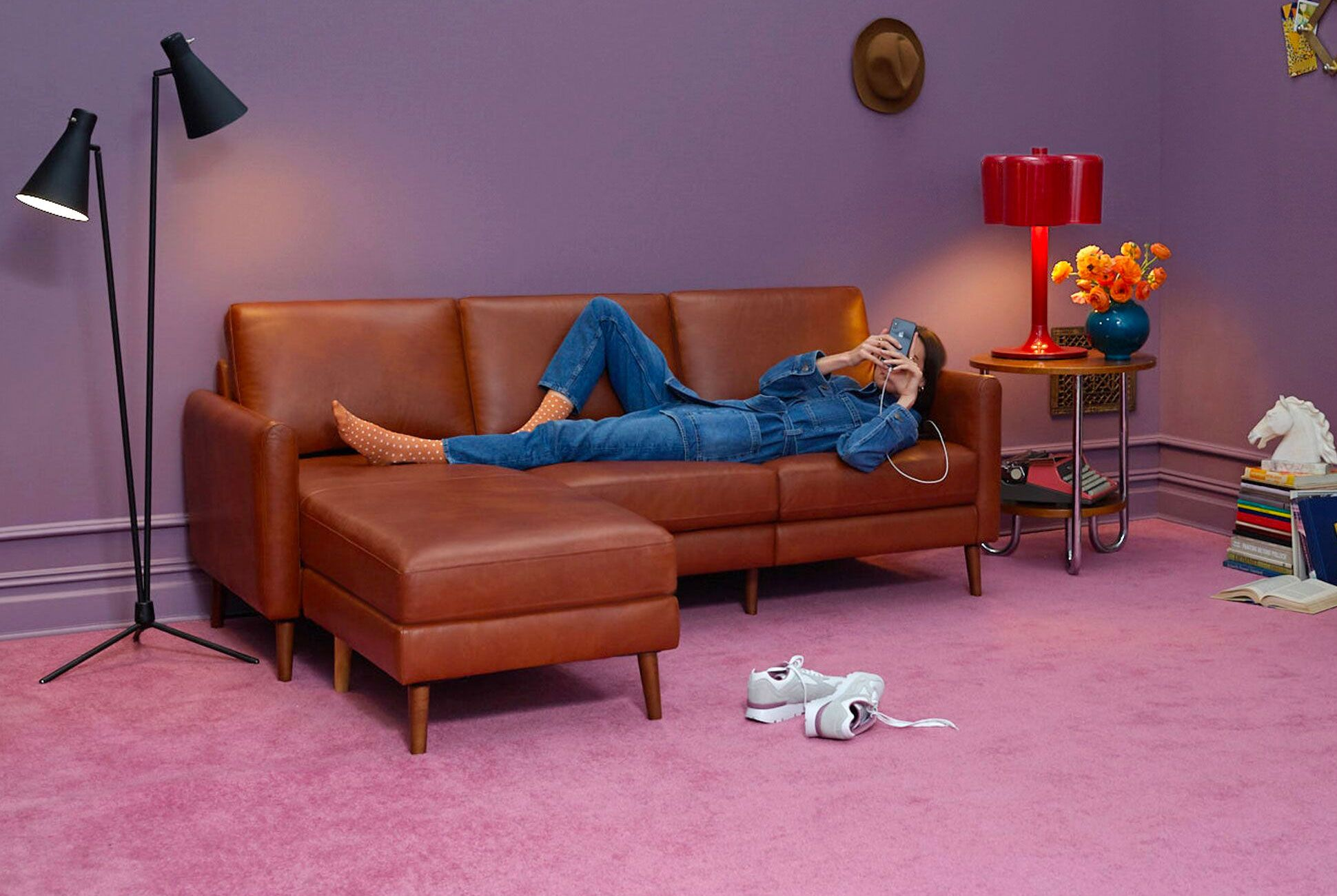 The Best Couch on the Now Comes in Leather Cool