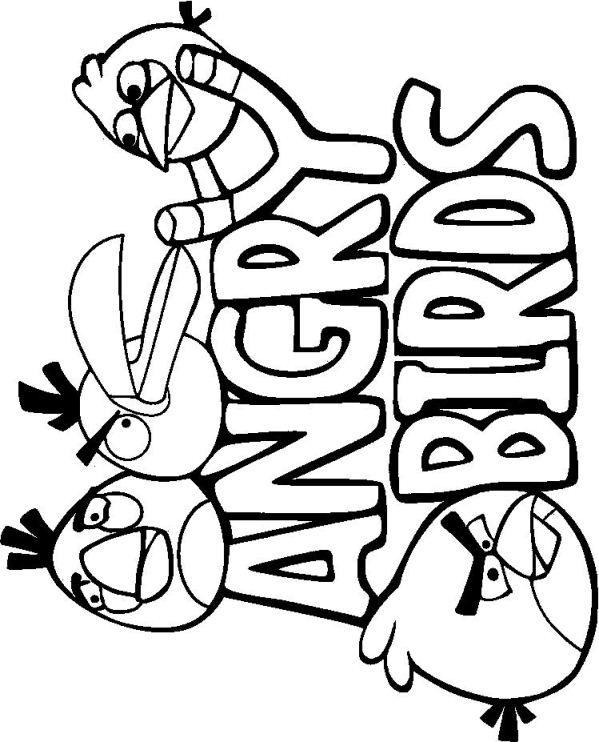 Angry Birds Stella Kleurplaten.Kleurplatenplein De Leukste Gratis Kleurplaten Op Het Net