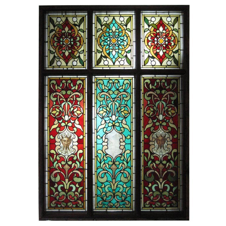 Hand Painted Stained Gl Windows From A Unique Collection Of Antique And Modern At Https Www 1stdibs Furniture Building Garden