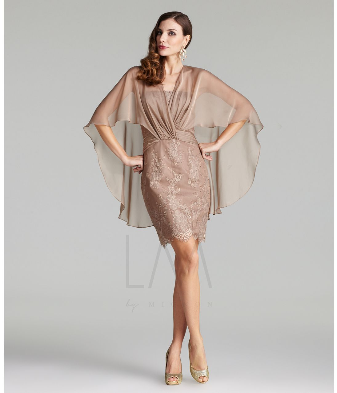 Unique vintage lace cocktail dresses fall collections and taupe