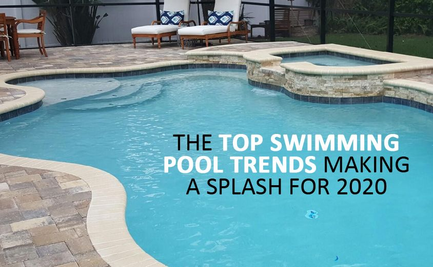 The Top Swimming Pool Trends Making A Splash For 2020 Olympus Pools Fl In 2020 Swimming Pool Trends Swimming Pool Construction Pool
