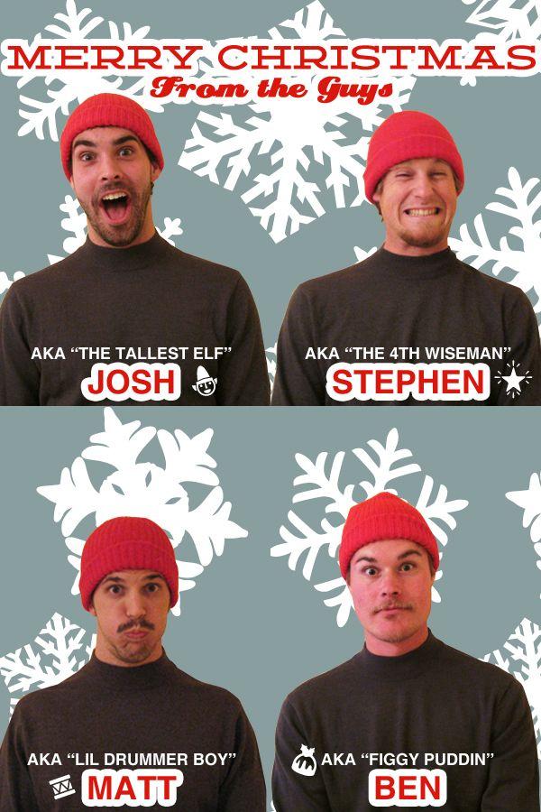 Funny christmas card ideas for roommates decor