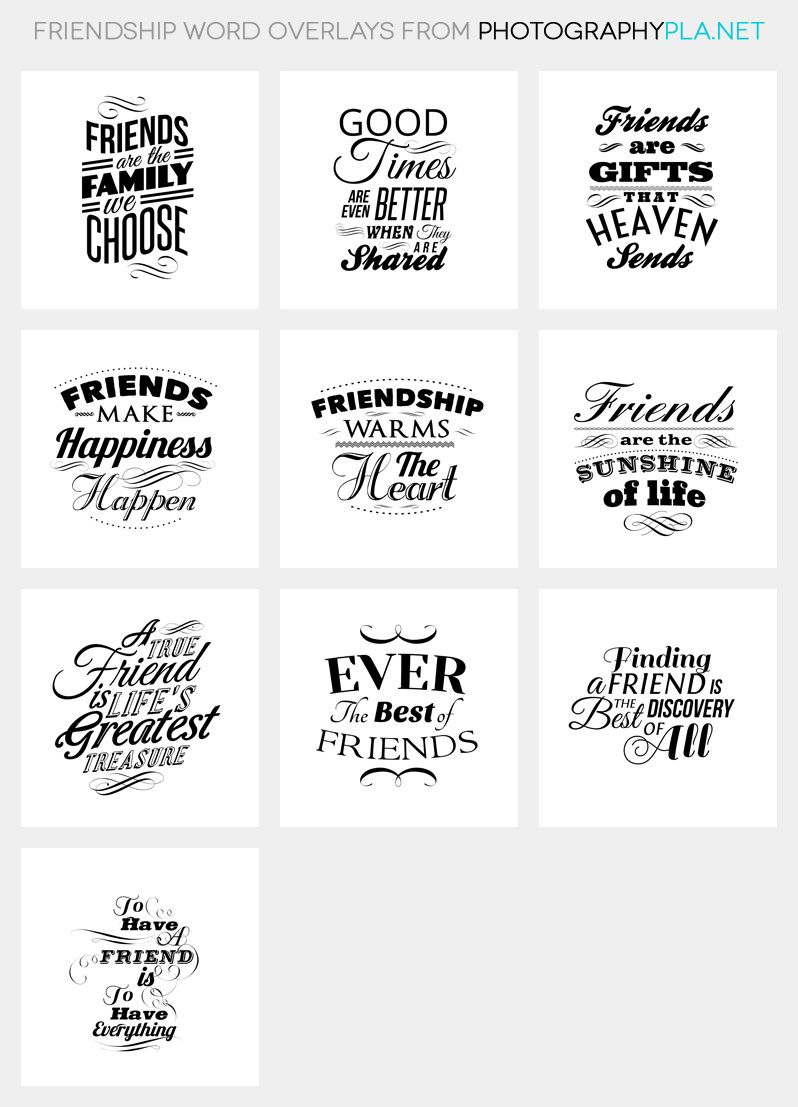 Words About Friendship Quotes Friendship Word Overlays  Friendship Words Overlays And Friendship