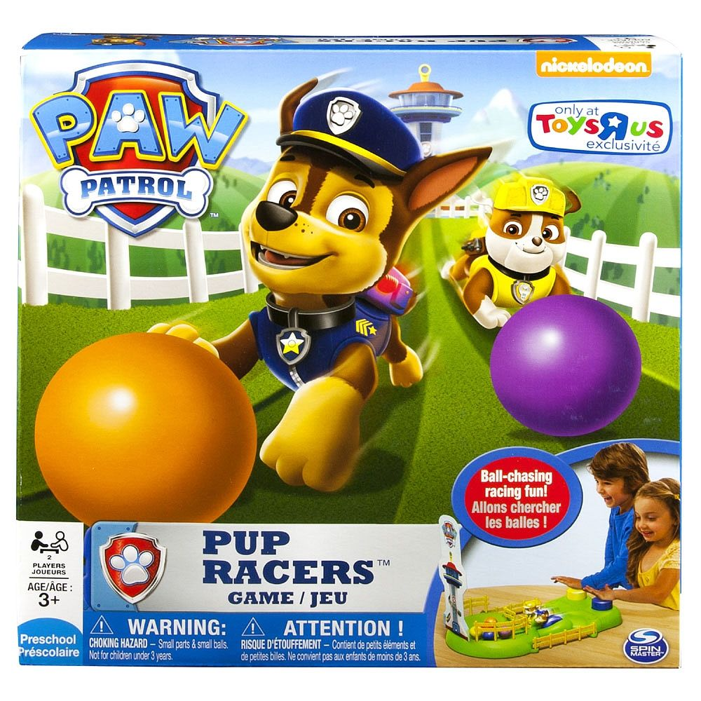 Paw Patrol Pup Racers Board Game Spin Master Toys R Us With