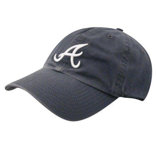 cb425e52a6977 Atlanta Braves Clean Up Baseball Cap Navy 1-Size Twins.  24.99 ...