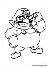 Super Mario Bros. coloring pages on Coloring-Book.info | Super ...