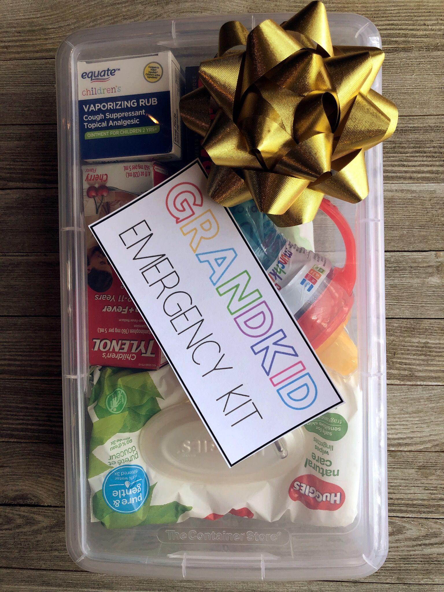 Grandchild Survival Kit (Great Christmas Gift Idea