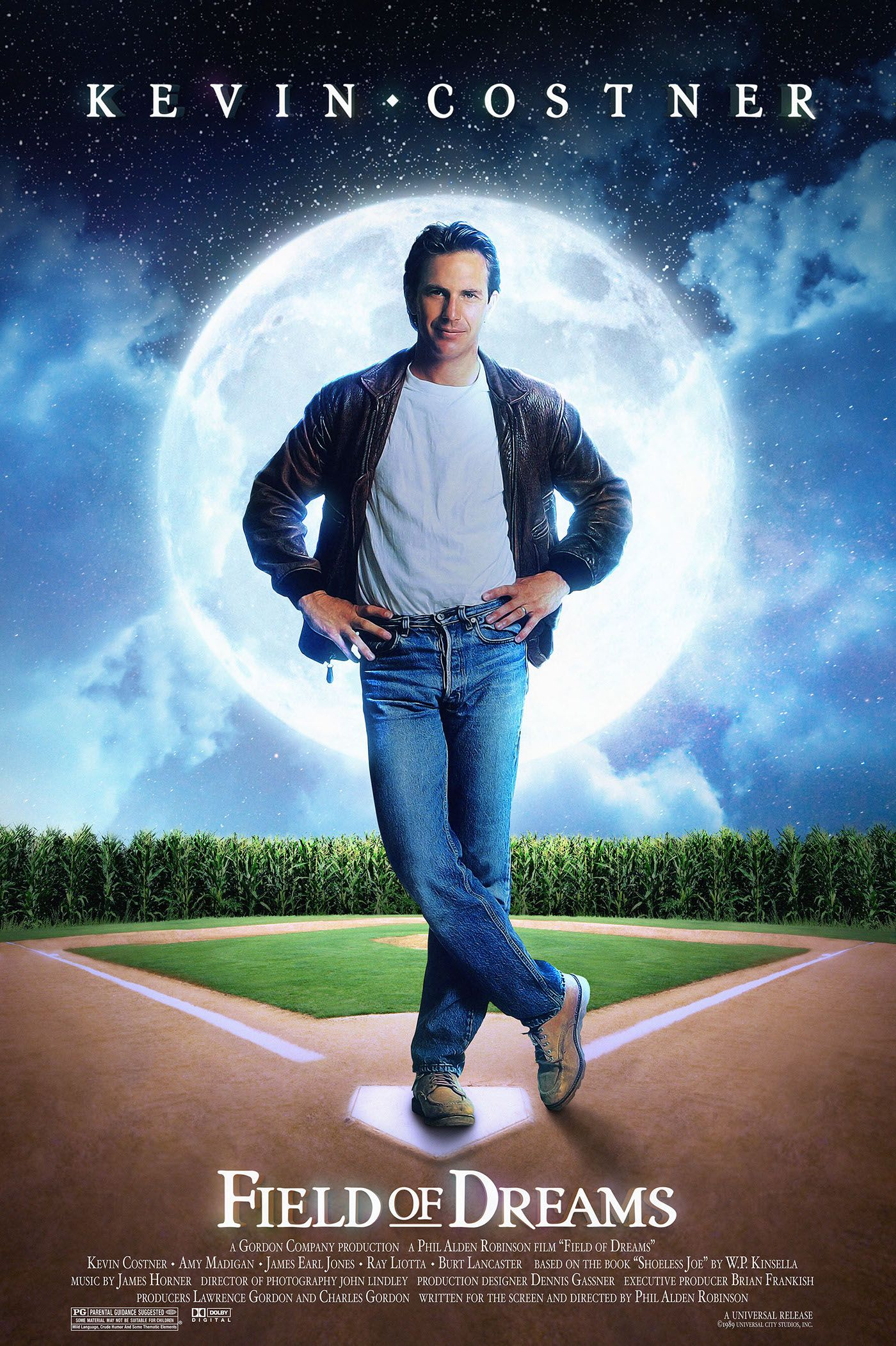 Field of Dreams - A Tribute Field Of Dreams, Sleeve Designs, Movie Posters,