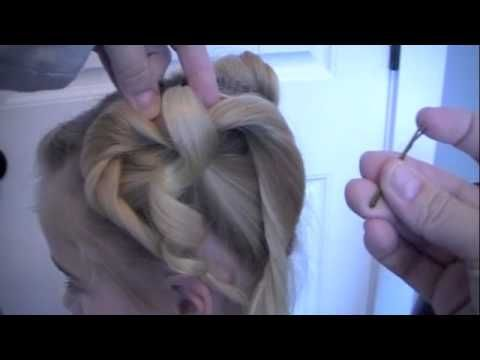 Valentine Hairstyle: Twisted Heart