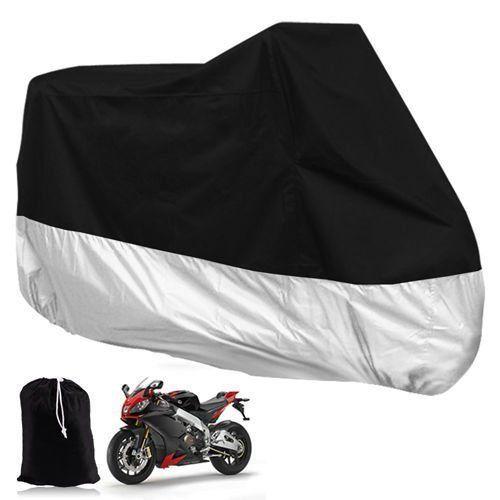 Motorcycle Bike Cover Waterproof Dustproof UV Protect Outdoor Scooter Rain Cover
