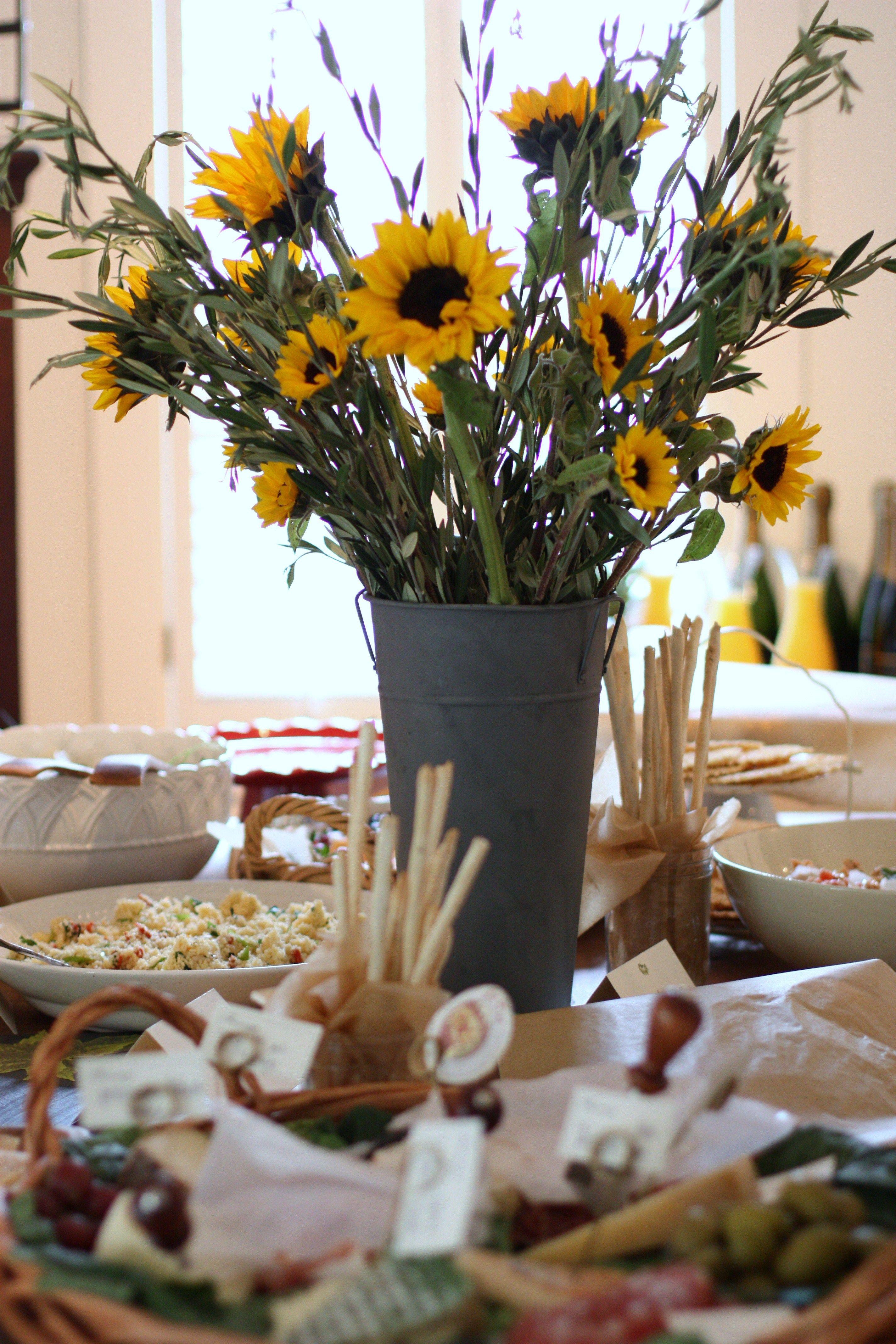 Fall Bridal Shower Food | Tuscan Bridal Shower | The Blush Blog