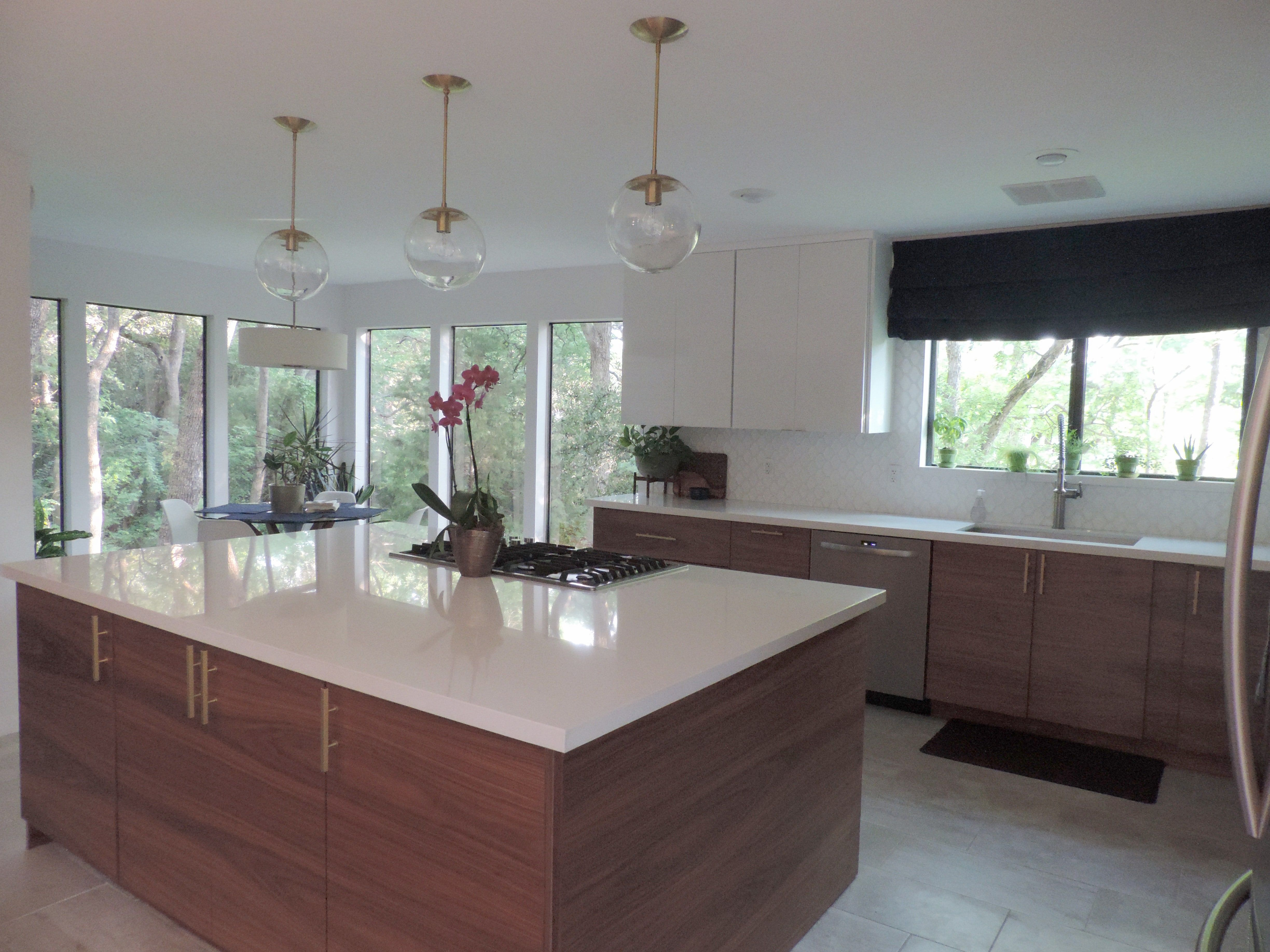 A Mid Century Modern Ikea Kitchen For A Gorgeous Light Filled