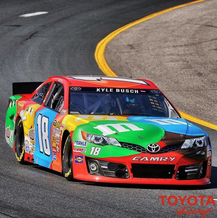 Love the Kyle Busch M&M Toyota colors for the weekend in New ...