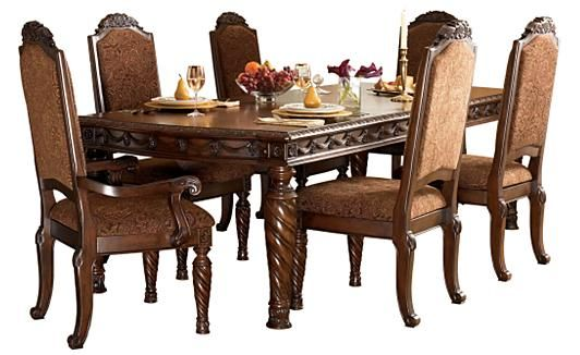 Genial Ashley Furniture Northshore Dining Set, The One Daniel Wants.