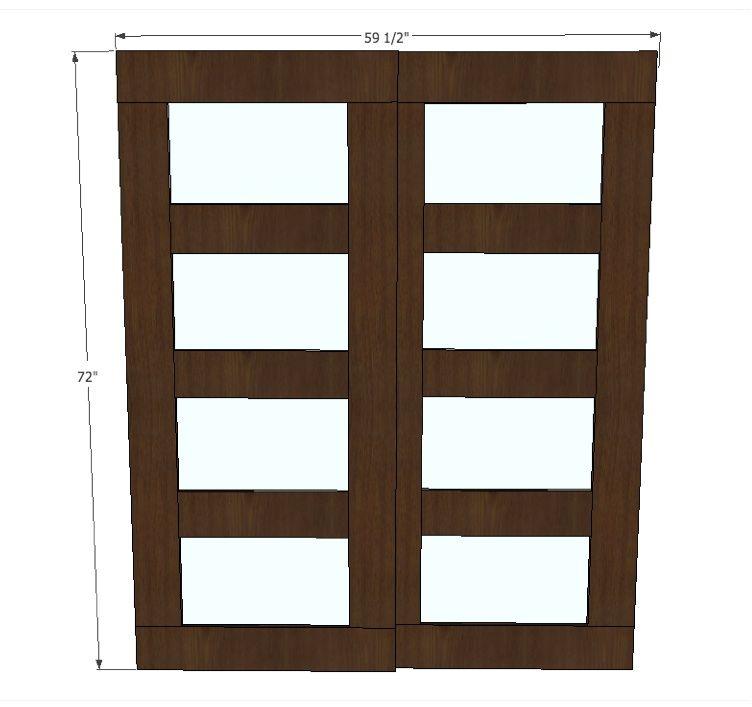 Bypass closet doors diy closet doors closet doors diy door