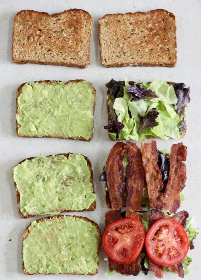 Photo of Avocado BLT   – Living Well Kitchen Blog