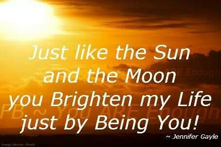You Brighten My Life Quotes Inpirational Happy Sparkle Quotes