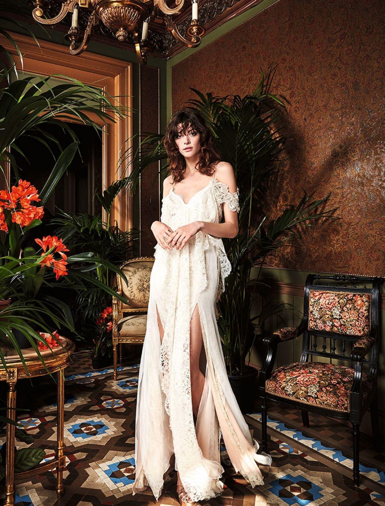 boho style wedding dresses london