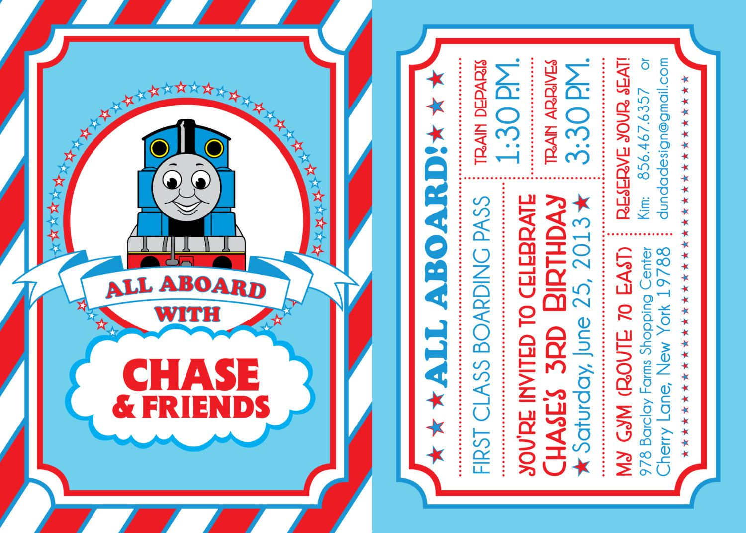 Thomas The Train Party Pack 3200 Via Etsy