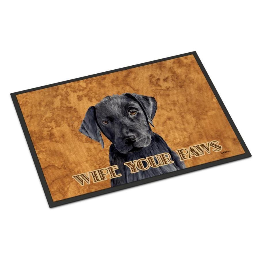 Caroline S Treasures Labrador Indoor Or Outdoor Mat 24x36 Doormat Sc9136jmat In 2020 Outdoor Floor Mats Rugs On Carpet Indoor