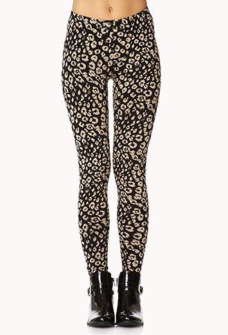 6a34109f32ba8 Wild Leopard Print Leggings | FOREVER 21 - 2074994930 | B U Y Y Y ...