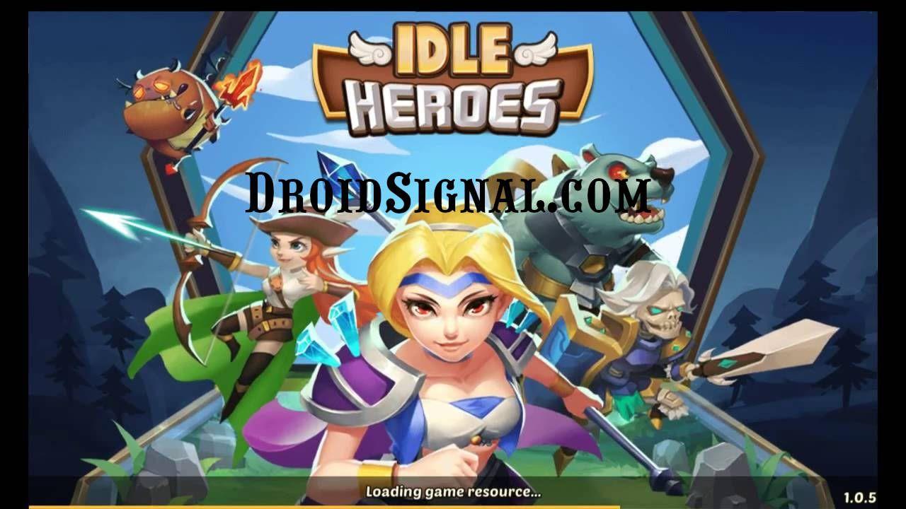 Download Idle Heroes Mod Apk v1.21.0 (Unlimited Gold Gems