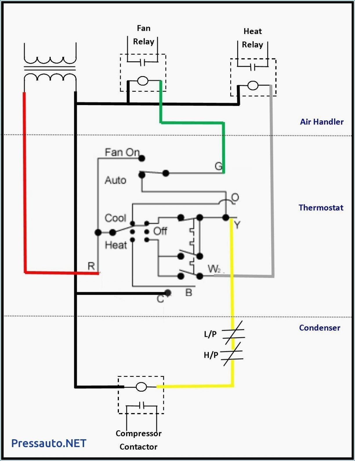 Contactor Wiring Diagram With Timer Diagram Diagramtemplate Diagramsample Thermostat Wiring Ac Wiring Electrical Circuit Diagram