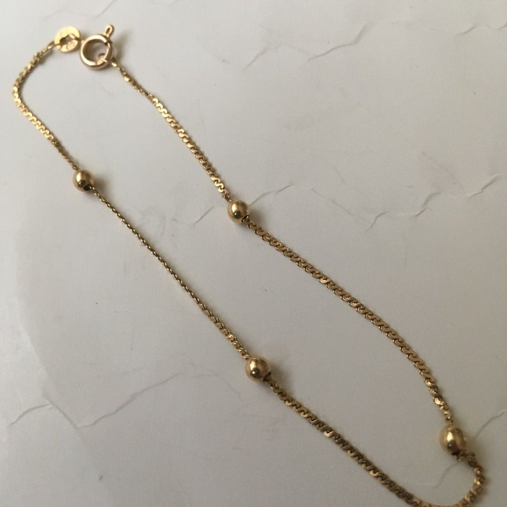 k gold chain bracelet products