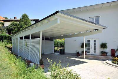 Carports Leeb Balconies And Fences Balconies And Fences In Wood And Aluminium Carports Dachterrasse Und Auffahrt
