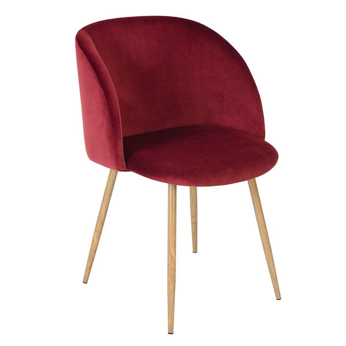 Amazon Com Mid Century Living Room Velvet Accent Chair