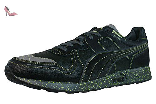 Puma RS 100 Glow Fish hommes Cuir chaussures Chaussures