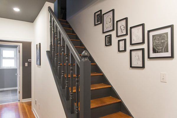 I Love This Dark Two Tone Stair And Deep Gray Almost Black Stair