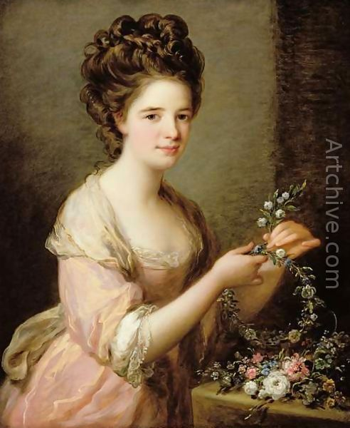 """""""Eleanor, Countess of Lauderdale, by Angelica Kauffmann, c. 1780-81. Museum of Fine Arts, Houston"""""""