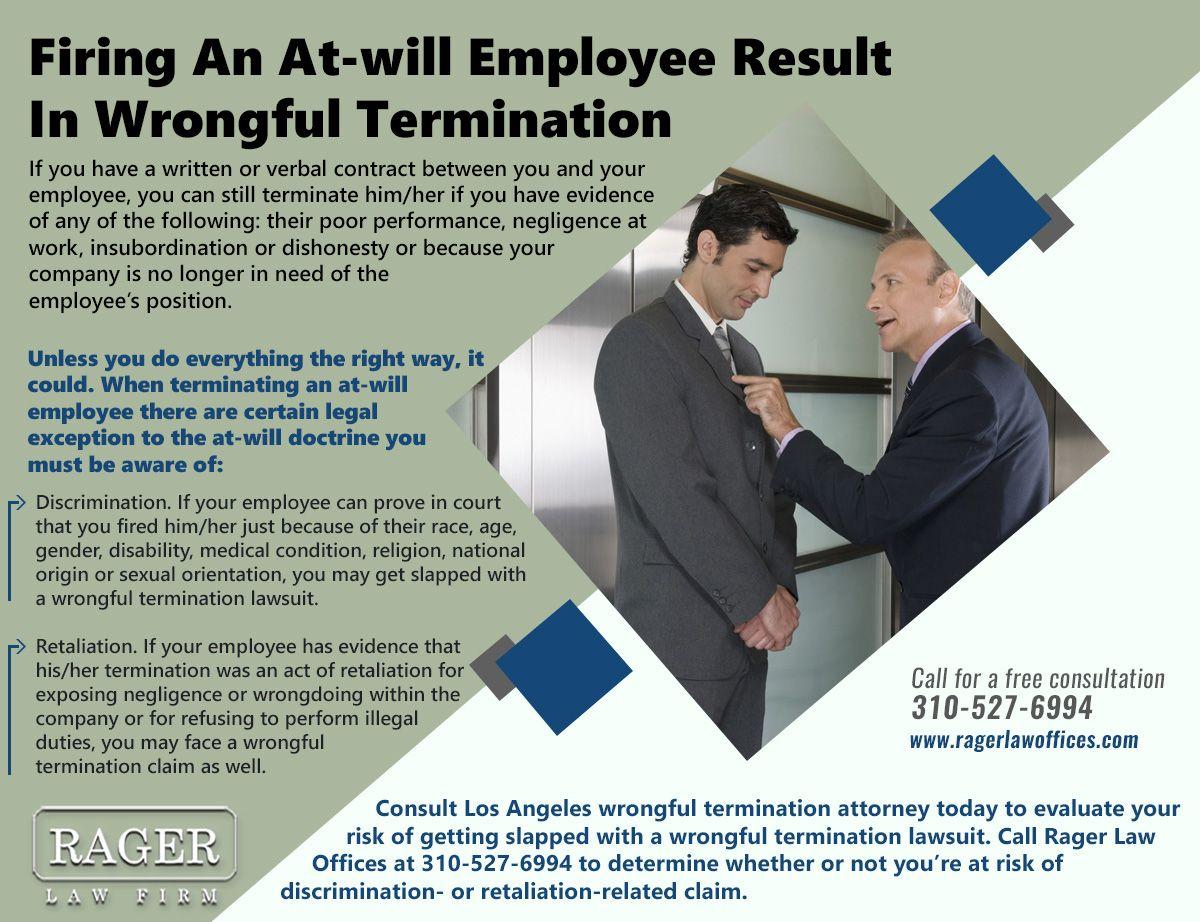 Wrongful Termination Attorney California Hostile Work