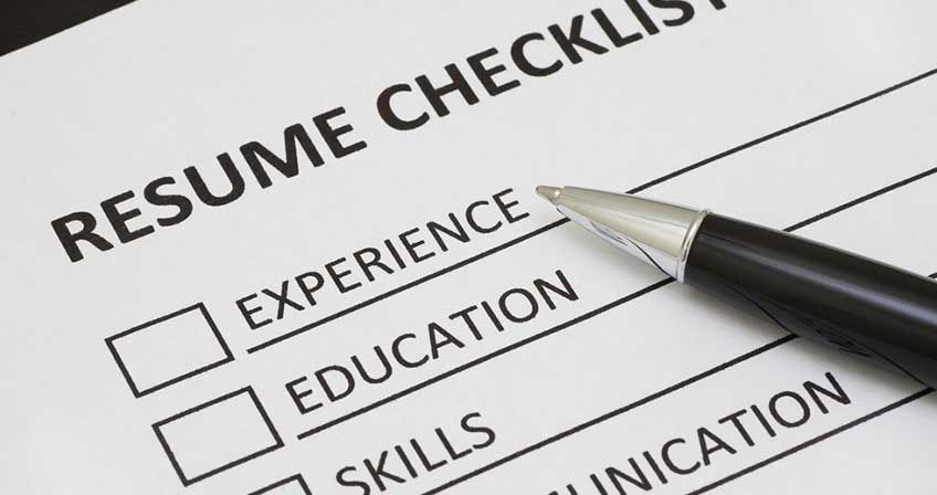 A resume checklist for every stage of your career resume