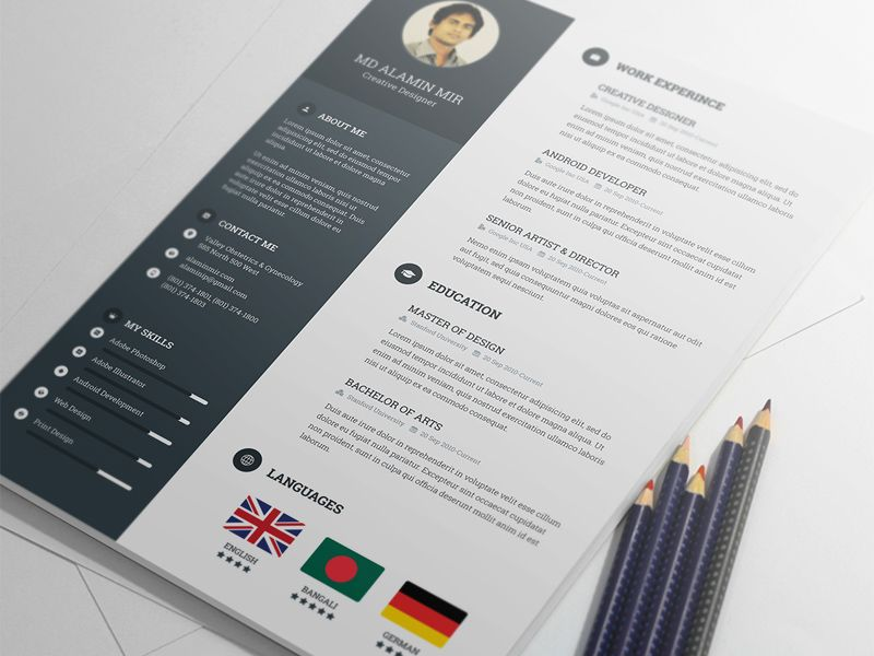 Resume Template Stationary Pinterest - resume valley