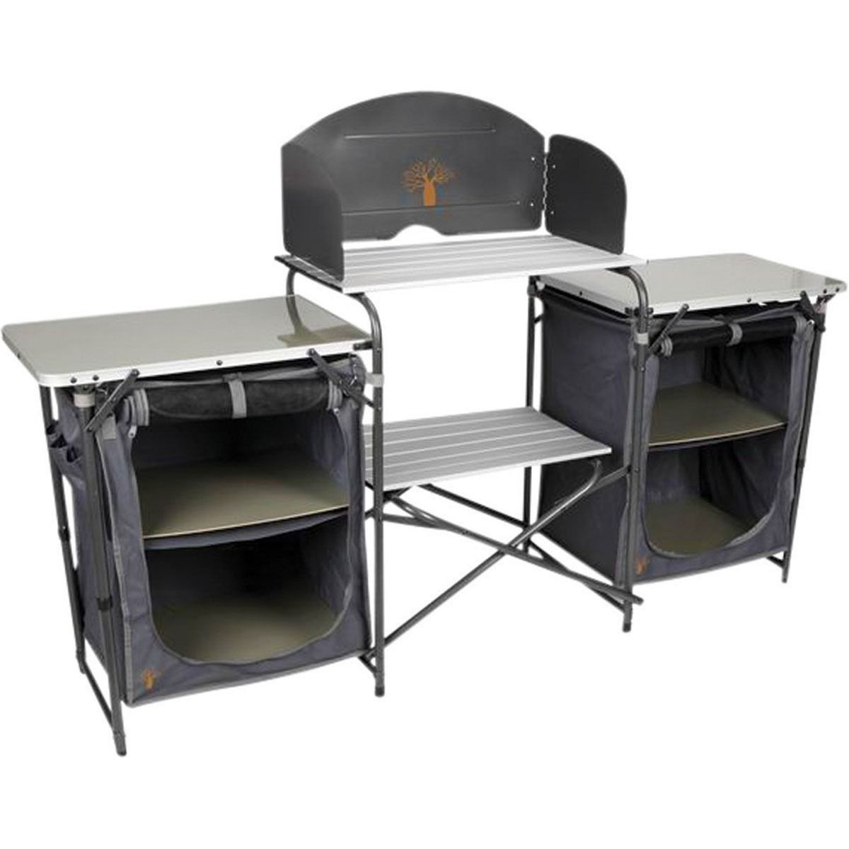 Boab Deluxe Camp Kitchen With Storage Rays Outdoors