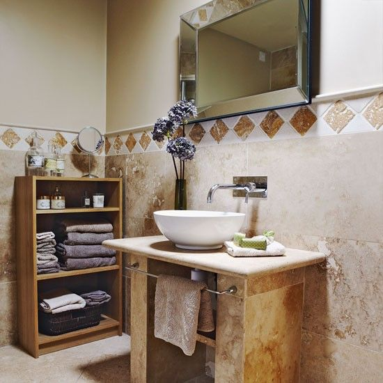 country bathrooms neutral stone bathroom bathroom designs bathroom tiles image - Bathroom Ideas Country Style
